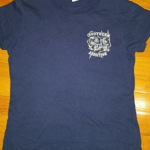 Southern Addiction fitted junior tshirt